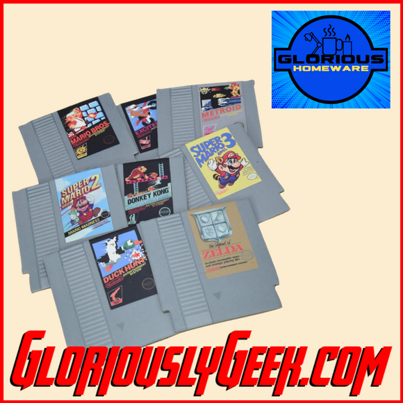 Gifts - Nintendo - Retro NES Cartridge Coasters