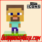 Collectables - Icons Lights - Minecraft - Steve #001