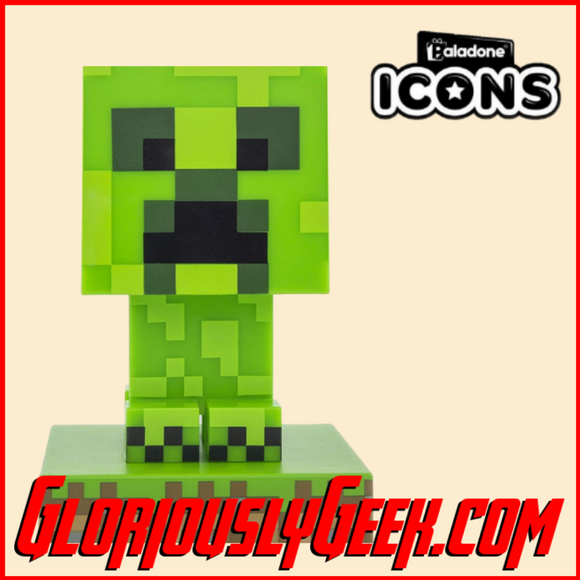 Collectables - Icons Lights - Minecraft - Creeper #003
