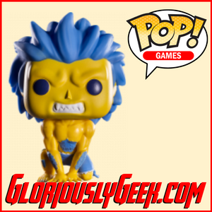 Funko - Games Pop! Vinyl - Street Fighter - Blanka (Hyper Fighting) #140 - Gloriously Geek
