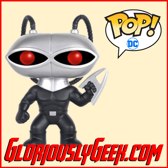 Funko - Heroes Pop! Vinyl - DC Comics - Black Manta #92 - Gloriously Geek