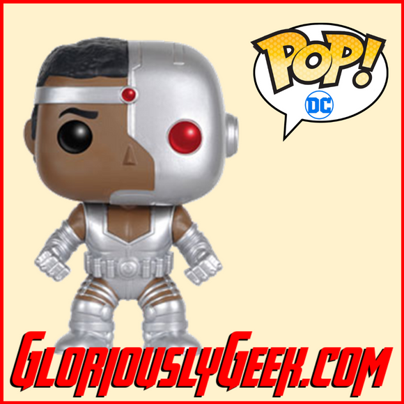 Funko - Heroes Pop! Vinyl - DC Comics - Cyborg #95 - Gloriously Geek