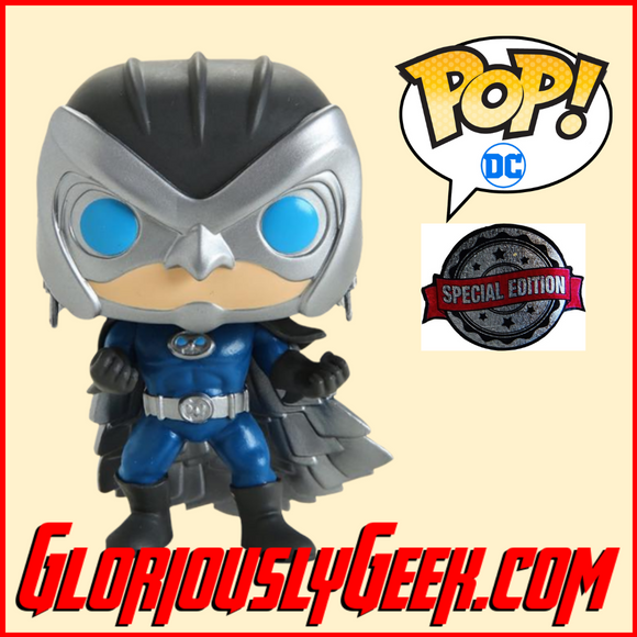 Funko - Heroes Pop! Vinyl - Dc Comics - Owlman #276 (Exclusive) - Gloriously Geek