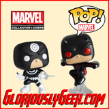 Funko - Marvel Pop! Vinyl - Bullseye vs Daredevil 2-Pack (MCC Exclusive) - Gloriously Geek