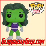 Funko - Marvel Pop! Vinyl - She-Hulk #147 - Gloriously Geek