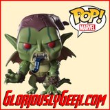 Funko - Marvel Pop! Vinyl - Spider-man into the Spider-verse - Green Goblin #408 - Gloriously Geek