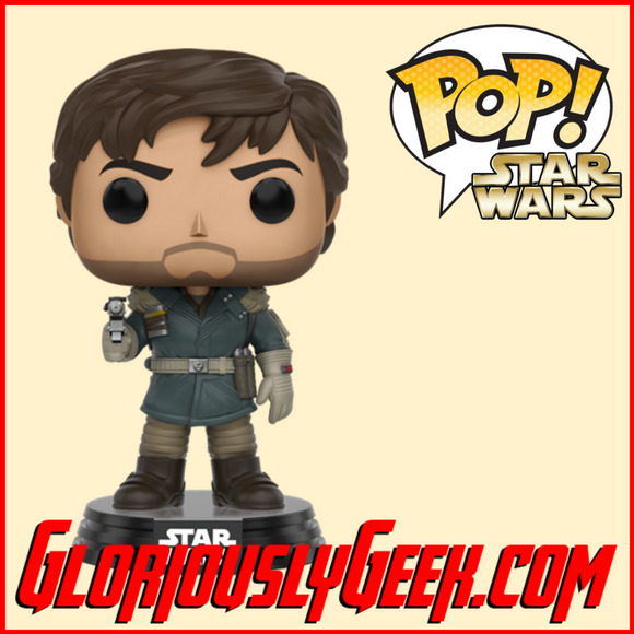 Funko - Star Wars Rogue One Pop! Vinyl - Captain Cassian Andor #139 - Gloriously Geek