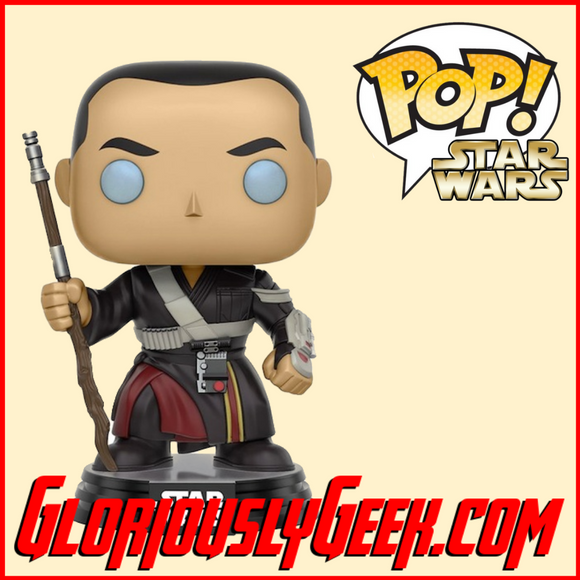 Funko - Star Wars Rogue One Pop! Vinyl - Chirrut Imwe #140 - Gloriously Geek