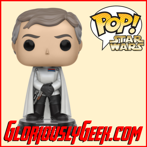Funko - Star Wars Rogue One Pop! Vinyl - Director Orson Krennic #142 - Gloriously Geek
