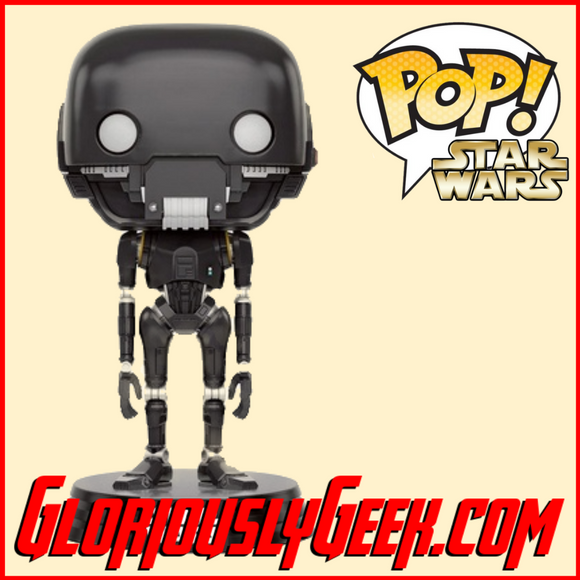 Funko - Star Wars Rogue One Pop! Vinyl - K-2SO #146 - Gloriously Geek