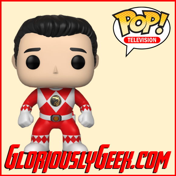 Funko - TV Pop! Vinyl - Mighty Morphing Power Rangers Jason #670 - Gloriously Geek