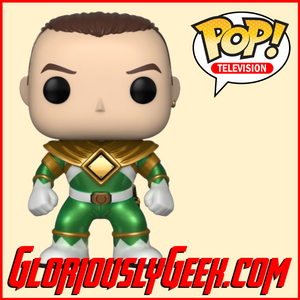 Funko - TV Pop! Vinyl - Mighty Morphing Power Rangers - Tommy (Metallic) #669 - Gloriously Geek
