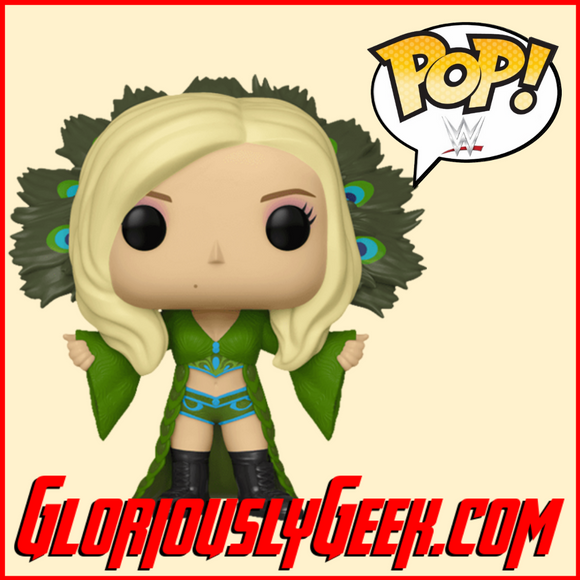 Funko - WWE POP! Vinyl Charlotte Flair #62 - Gloriously Geek