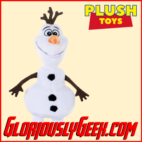 Plush Toy - Disney - Frozen - Olaf - Gloriously Geek