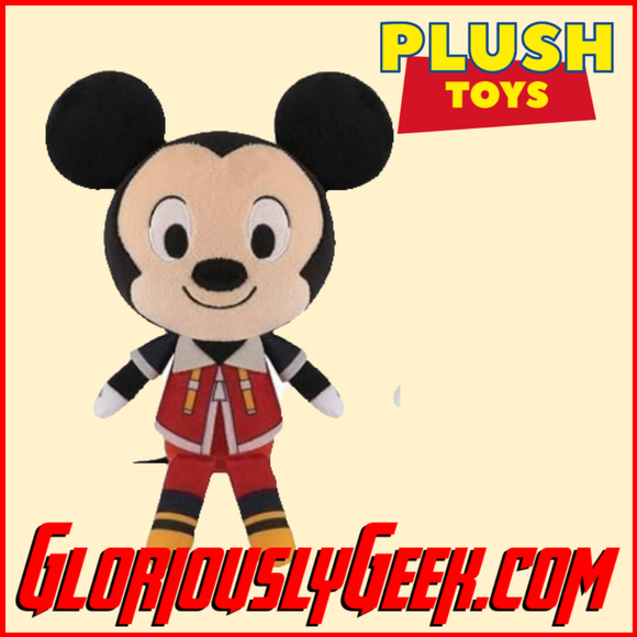 Plush Toy - Funko - Disney - Kingdom Hearts - Mickey - Gloriously Geek