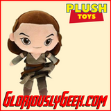 Plush Toy - Funko - Galactic Plushies - Star Wars Rey - Gloriously Geek