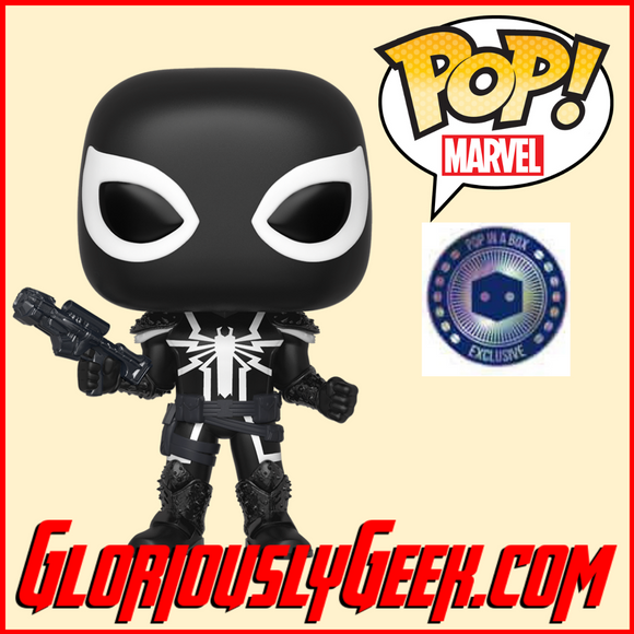 Funko - Marvel Pop! Vinyl - Agent Venom #507 (PIAB Exclusive) - Gloriously Geek