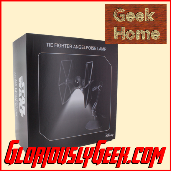 Home - Star Wars - Tie Fighter Posable Desk Lamp - Gloriously Geek