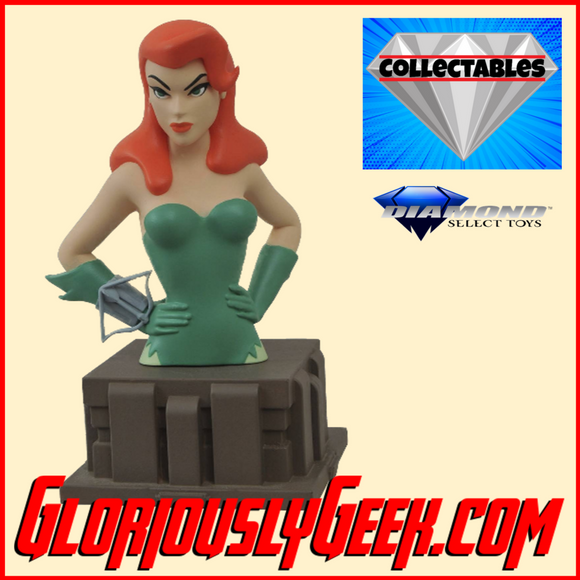 Collectables - Diamond Select Toys - DC Comics - Poison Ivy Bust - Gloriously Geek