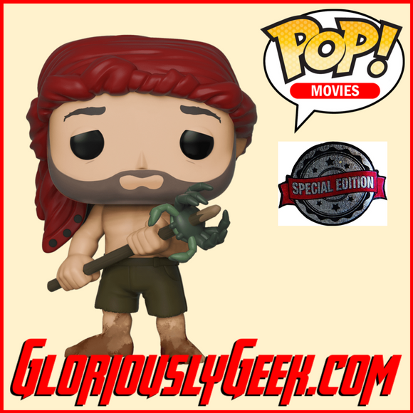 Funko - Movies Pop! Vinyl - Cast Away - Chuck Noland with Spear #792