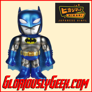 Funko - Hikari Japanese Vinyl - Batman Metallic (1 of 1500) - Gloriously Geek