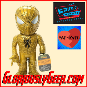 Pre-Loved - Funko - Hikari Japanese Vinyl - Spider-Man 24k (1 of 750) - Gloriously Geek