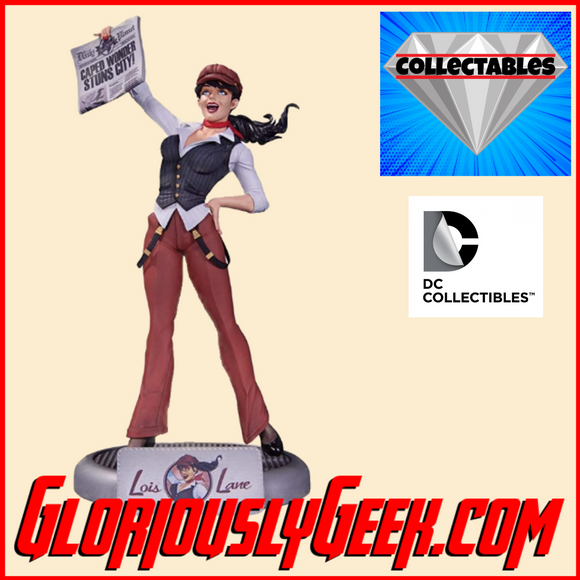 Collectables - DC Comics - DC Bombshells - Lois Lane - Gloriously Geek