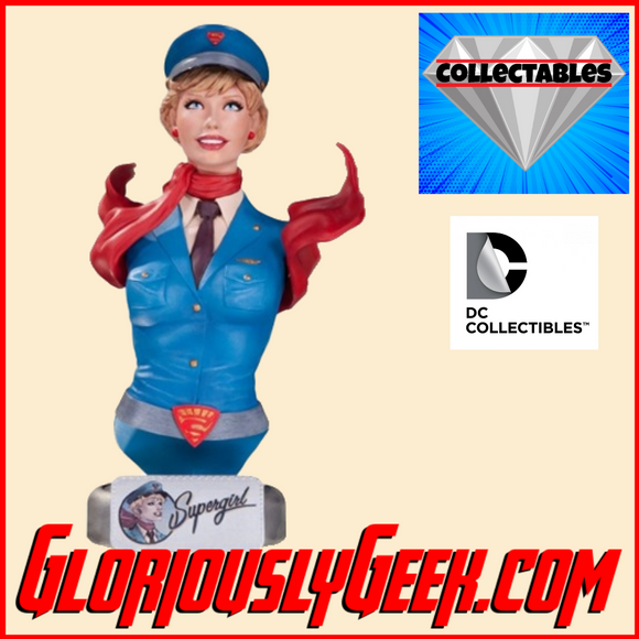 Collectables - DC Comics - DC Bombshells - Supergirl Bust