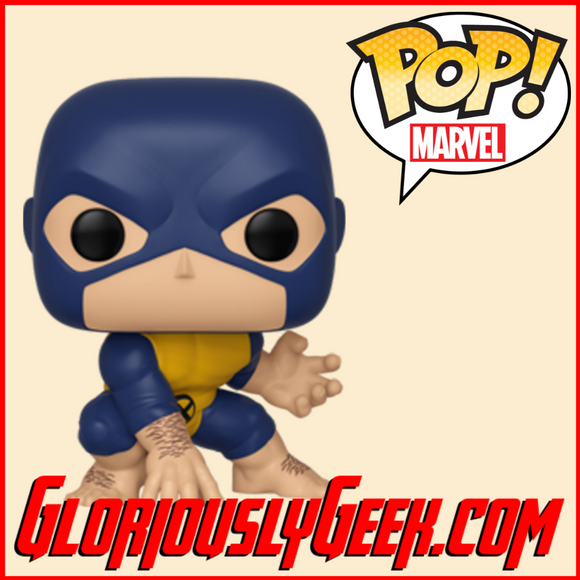 Funko - Marvel Pop! Vinyl - Beast #505 - Gloriously Geek
