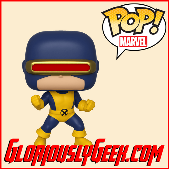 Funko - Marvel Pop! Vinyl - Cyclops #502 - Gloriously Geek
