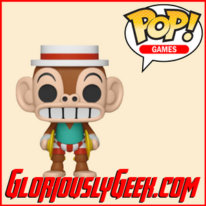 Funko - Games Pop! Vinyl - Cuphead - Mr Chimes #418 - Gloriously Geek