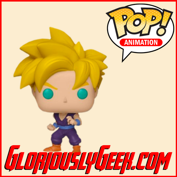Funko - Animation Pop! Vinyl - Dragon Ball Z - Super Saiyan Gohan #509 (Exclusive) - Gloriously Geek