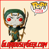 Funko - Marvel Pop! Vinyl - Avengers Infinity War - Corvus Glaive #290 - Gloriously Geek