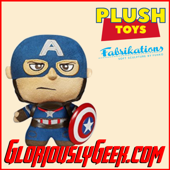 Plush Toy - Fabrikations  - Marvel - Captain America #14 - Gloriously Geek