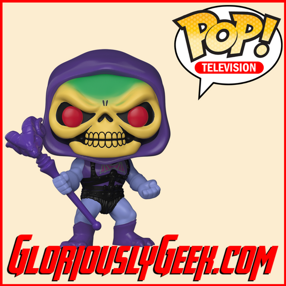 Funko - TV Pop! Vinyl - Masters of the Universe - Battle Armor Skeletor #563 - Gloriously Geek