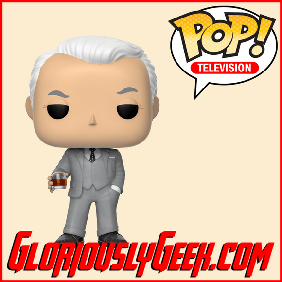 Funko - TV Pop! Vinyl - Mad Men - Roger Sterling #911 - Gloriously Geek