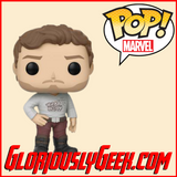 Funko - Marvel Pop! Vinyl - Guardians of the Galaxy Vol. 2 - Star-Lord #261 - Gloriously Geek