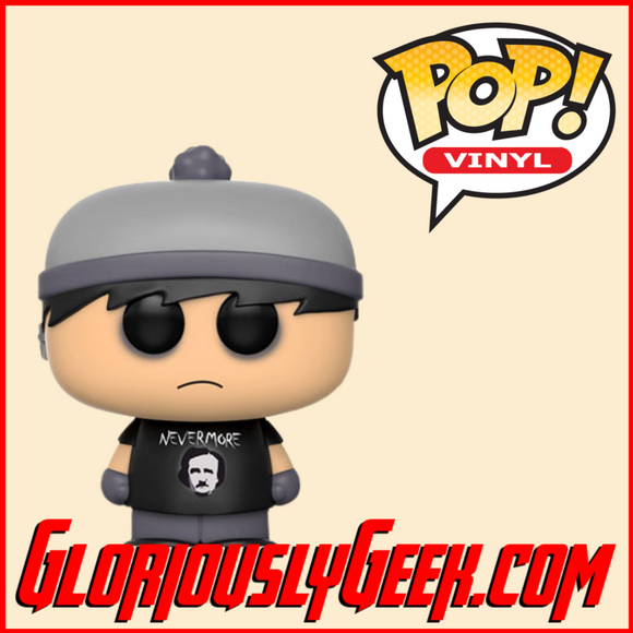 Funko - South Park Pop! Vinyl - Goth Stan #13 - Gloriously Geek