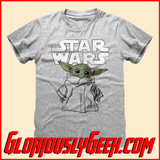 T-Shirt - Star Wars - The Mandalorian - The Child Sketch - Gloriously Geek