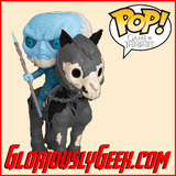 Funko - Pop! Rides - Game of Thrones - Mounted White Walker #60 - Gloriously Geek