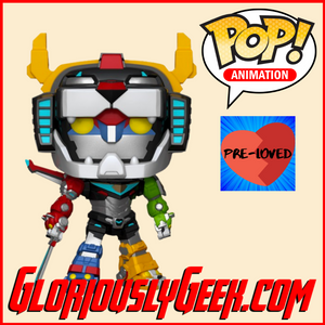 Pre-Loved - Funko - Animation Pop! Vinyl - Voltron Legendary Defender - Voltron #471 - Gloriously Geek