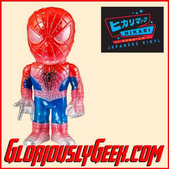 Funko - Hikari Japanese Vinyl - Marvel - Spider-Man Glitter (1 of 1500) - Gloriously Geek