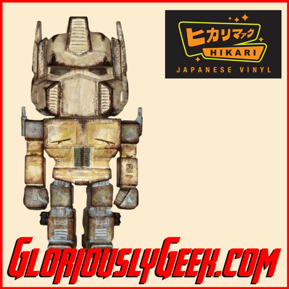 Funko - Hikari Japanese Vinyl - Transformers - Optimus Prime Distressed (1 of 1000) - Gloriously Geek