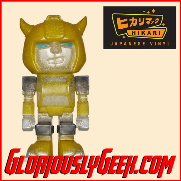 Funko - Hikari Japanese Vinyl - Transformers - Bumble Bee Glitter (1 of 3000) - Gloriously Geek