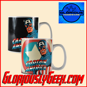 Home - Marvel - Captain America Heat Change Mug