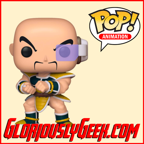 Funko - Animation Pop! Vinyl - Dragon Ball Z - Nappa #613 - Gloriously Geek