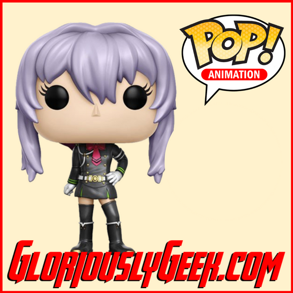 Funko - Animation Pop! Vinyl - Seraph of the End - Shinoa Hiragi #197 - Gloriously Geek