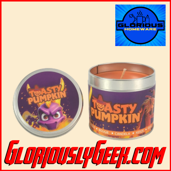 Home - Spyro the Dragon - Toasty Pumpkin Candle