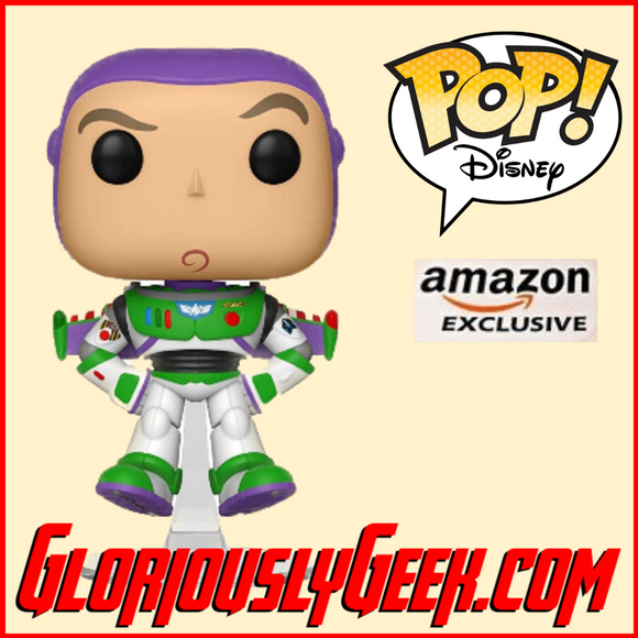 Funko - Disney Pop! Vinyl - Toy Story 4 - Buzz Lightyear Floating #536 (US Amazon Exclusive) - Gloriously Geek