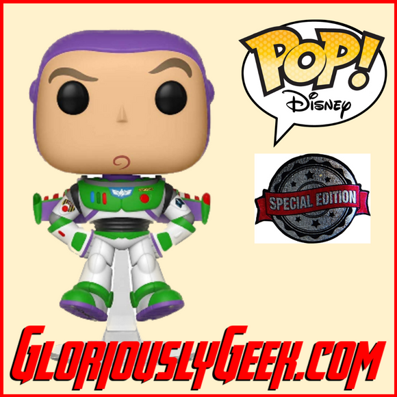Funko - Disney Pop! Vinyl - Toy Story 4 - Buzz Lightyear Floating #536 (Exclusive) - Gloriously Geek